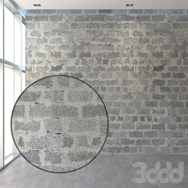 Набор стен из керамзитоблоков