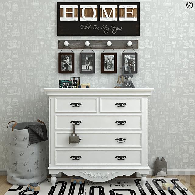 Мебель Country Corner, игрушки, декор