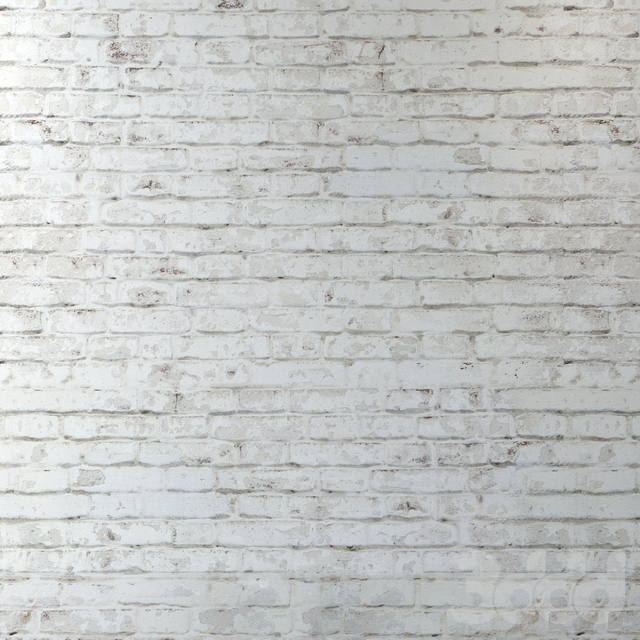 Старая кирпичная кладка из белого кирпича