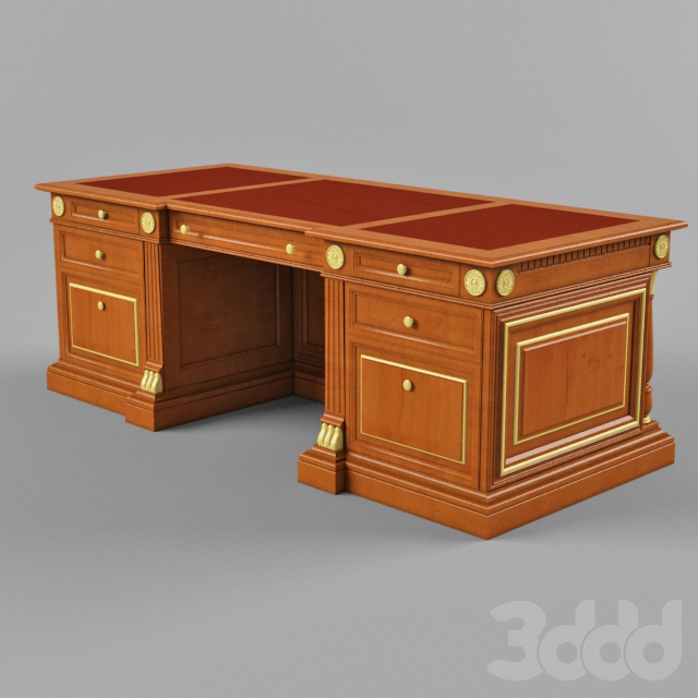 Стол письменный классический деревянный