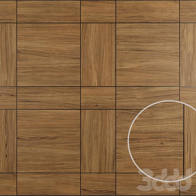 Акустические декоративные панели 6 видов, набор 5