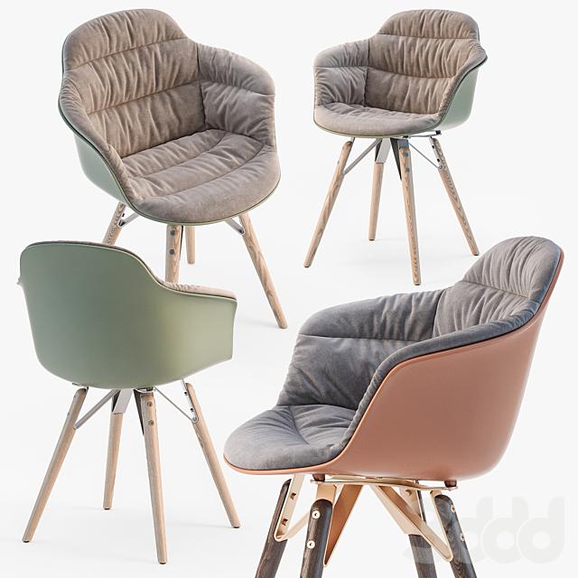 Bontempi Mood covered armchair