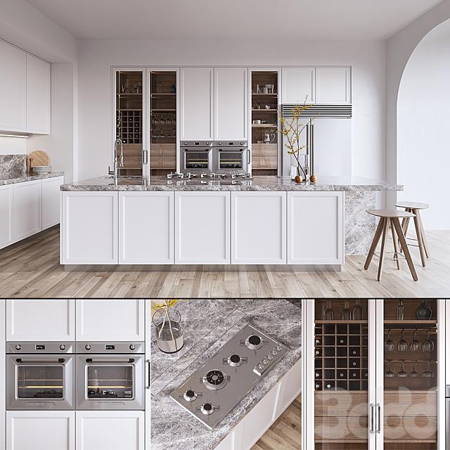 Кухня L'ORIGINE Aeterna (vray GGX, corona PBR)