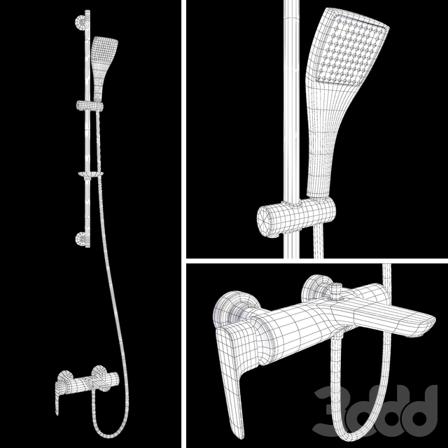 Jacob Delafon ALEO+ bath mixer