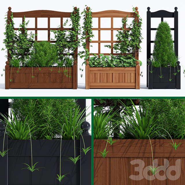 Stain classic planter