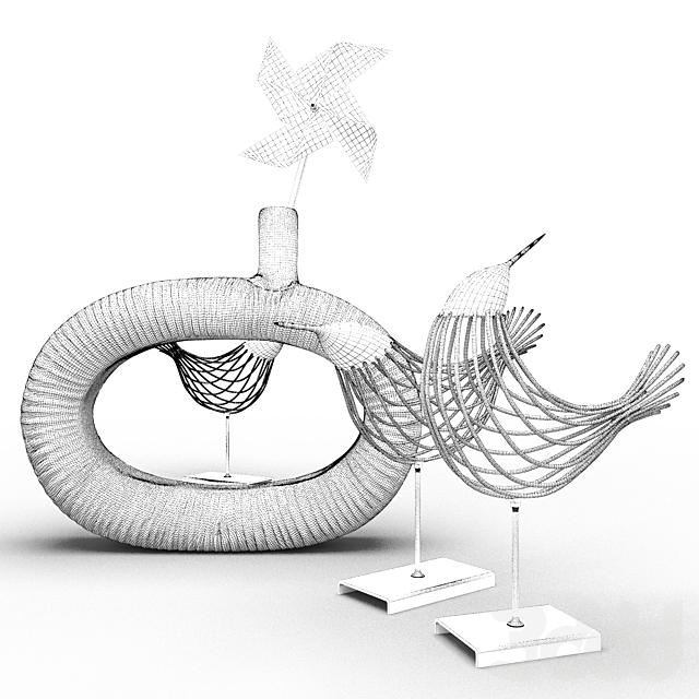 Птицы и ваза