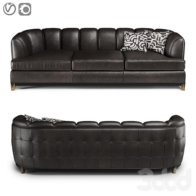 Hooker Rockingham Stationary Sofa