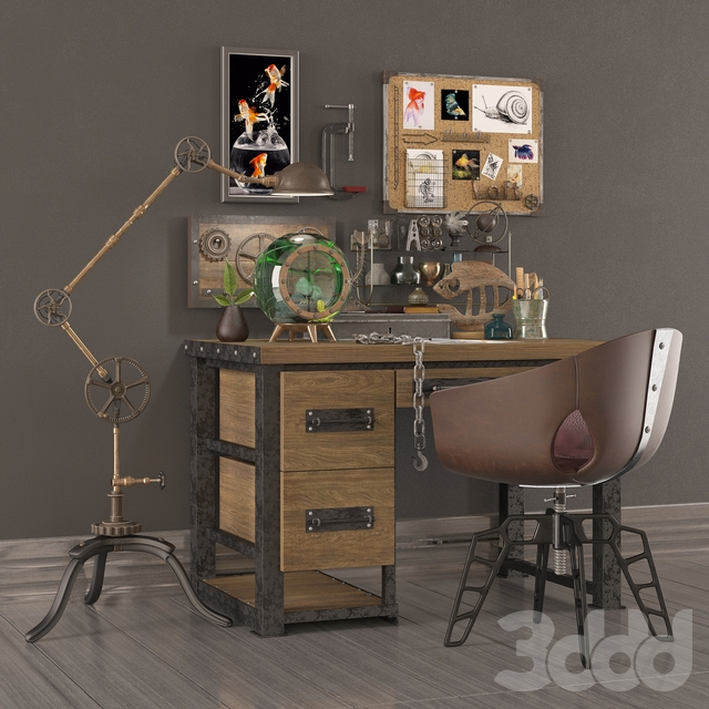 Decorative set Loft_05