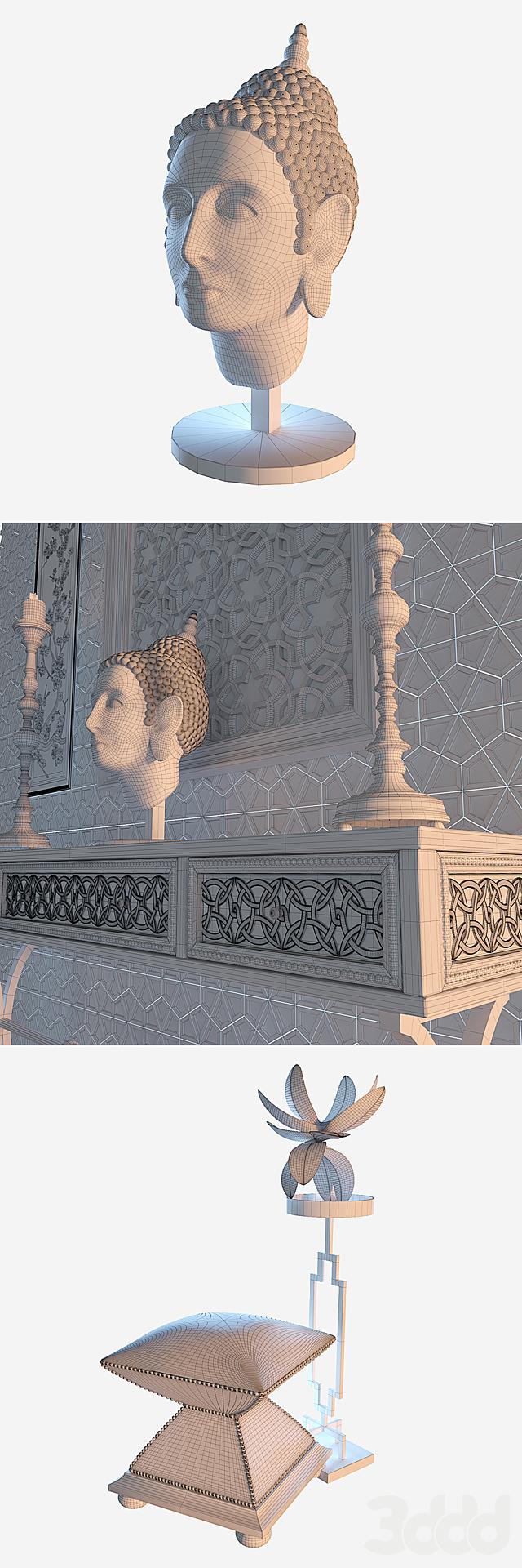 Декоративный набор Будда - Buddha Deko Set