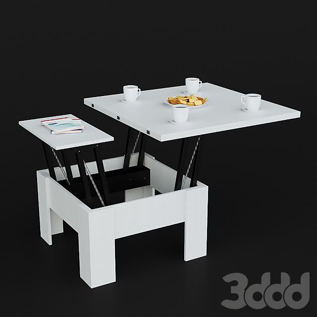 Стол-трансформер Hoff с декором
