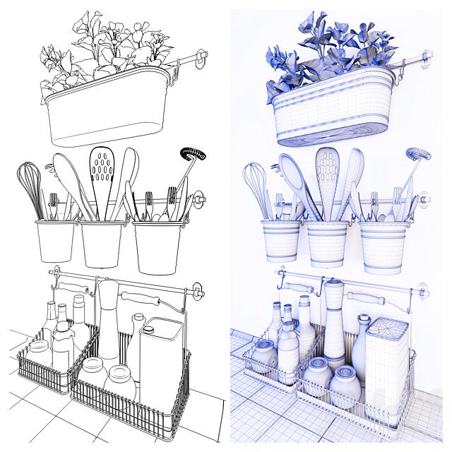 Рейлинг ФИНТОРП/FINTORP (IKEA)