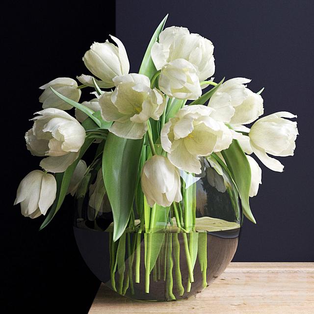 Букет цветов в вазе 20