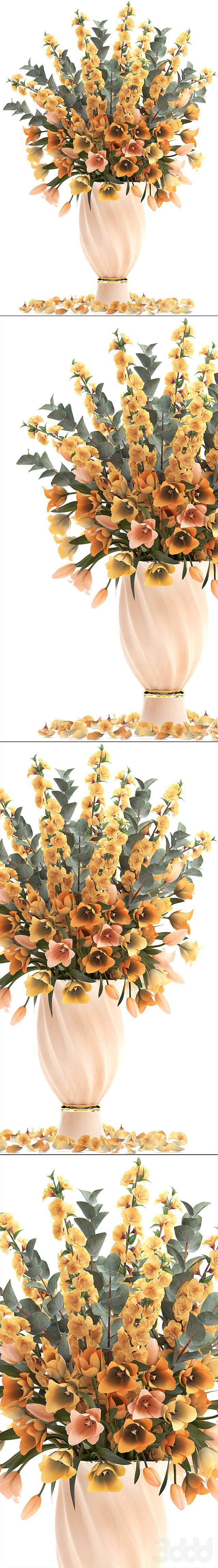 Коллекция цветов 30. Весенний букет.