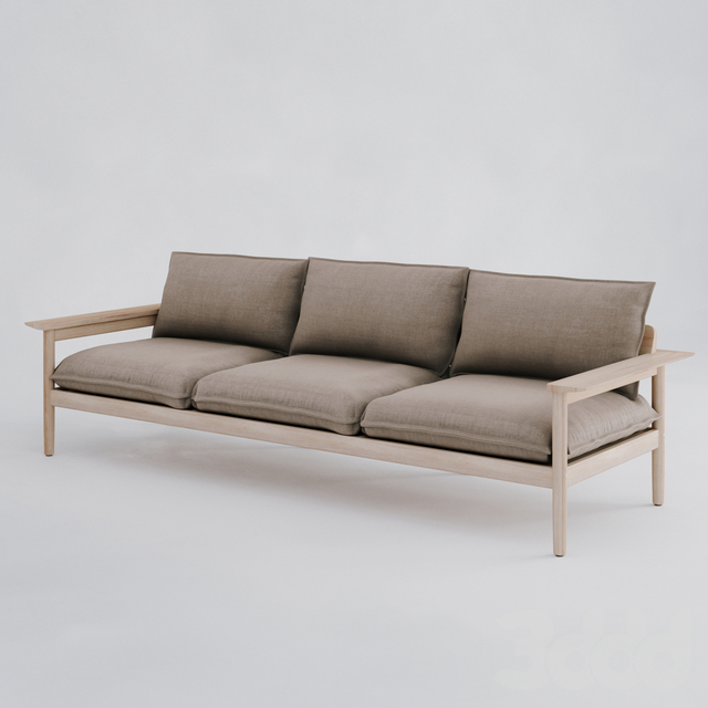 DWR Terassi Three-Seater Sofa / Трехместный диван