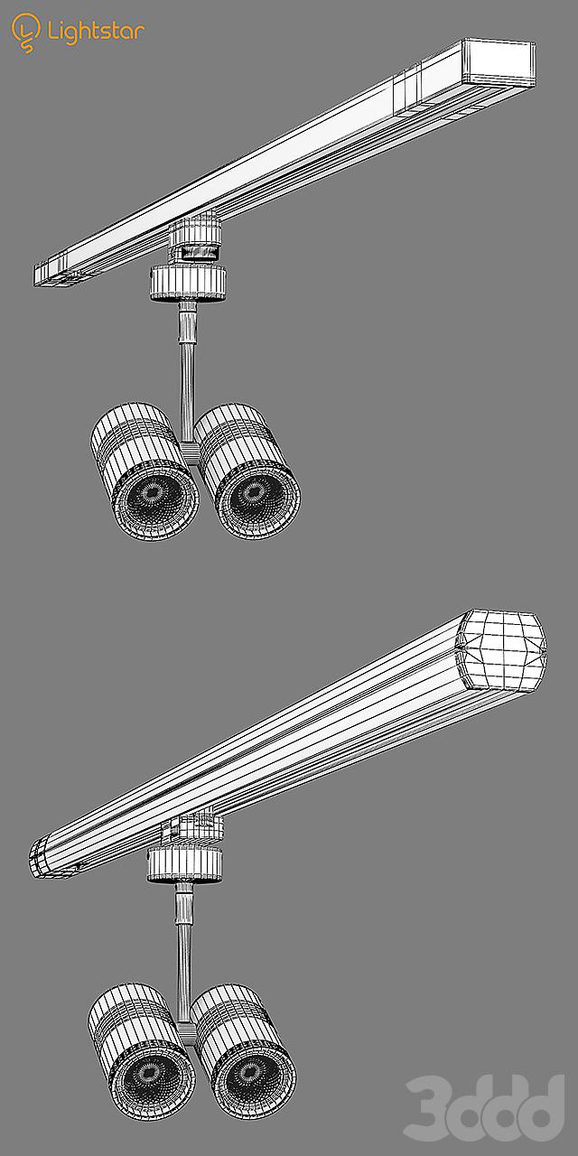 21444x Rullo Lightstar Track Light Sets