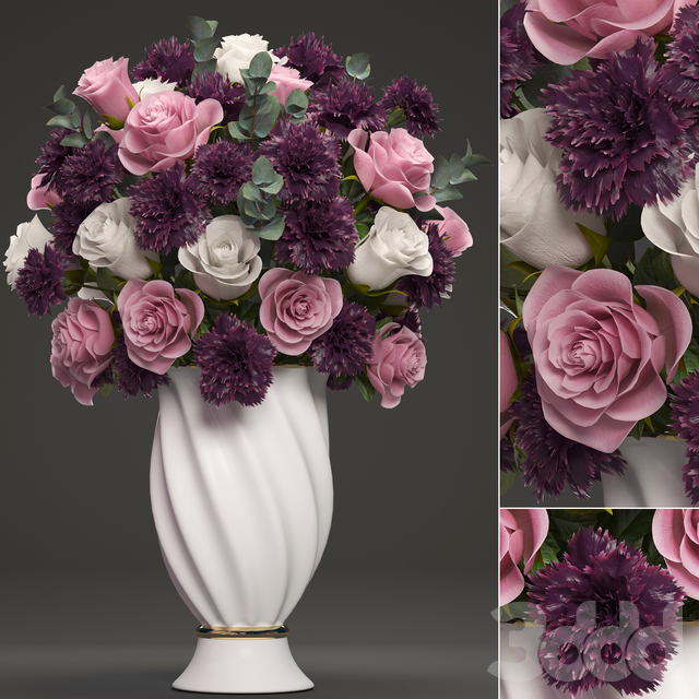 Коллекция цветов 42. Букет цветов.