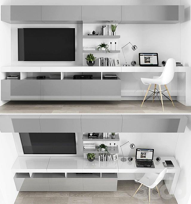 TV stand set 02