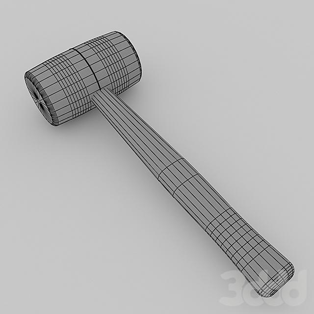 Молоток, киянка, hammer, mallet
