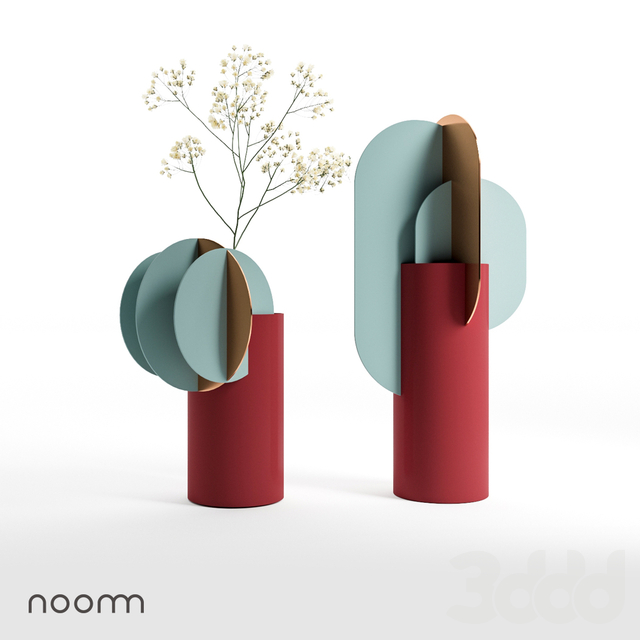 Delaunay and Ekster vases by NOOM