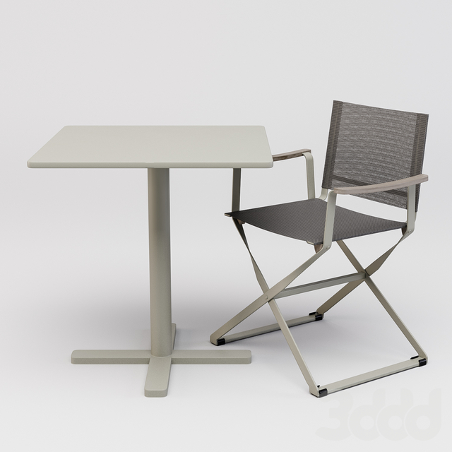Emu Directors Chair And Darwin Table