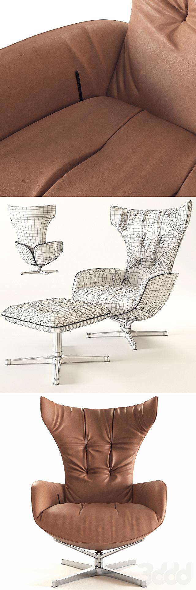 Onsa Chair Walter Knoll(vray GGX)