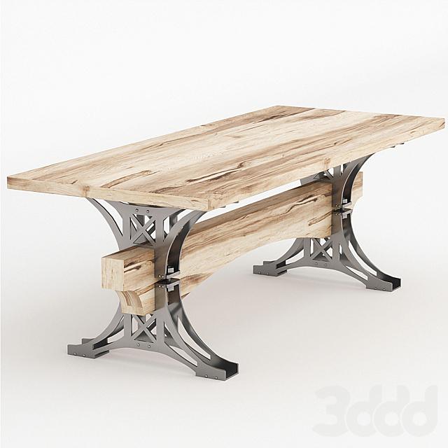 Стол White Ash Truss Table