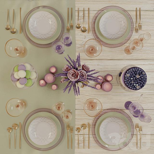 Provence tableware
