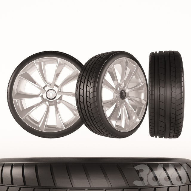 Wheels Tesla