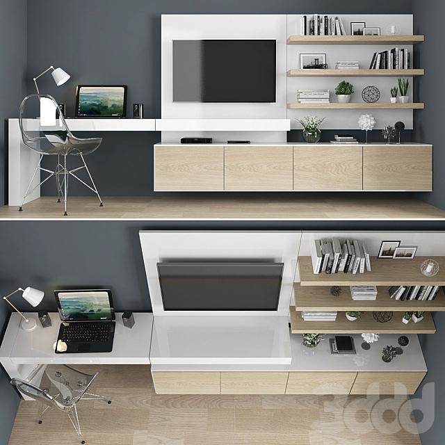 TV stand set 05