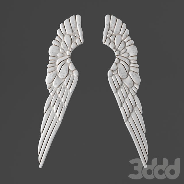 ДЕКОР PEWTER ANGEL WINGS