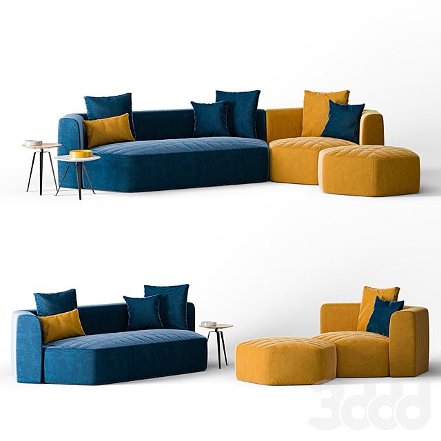 Bonaldo Panorama Sofa