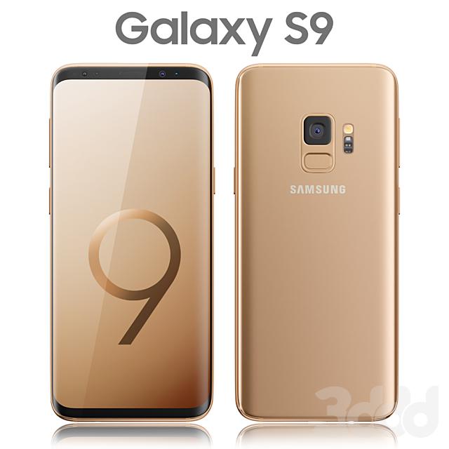 Samsung Galaxy S9 Gold