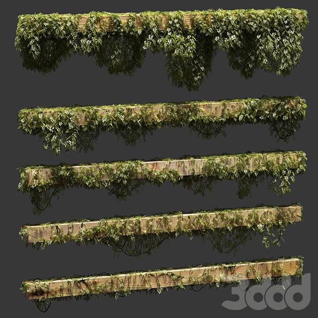 Листья для балок. 5 моделей