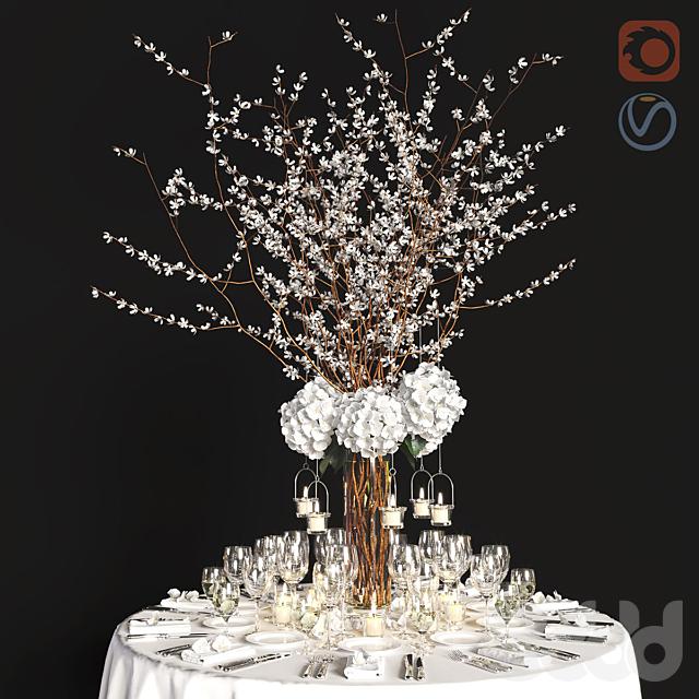 Декор на праздничный стол