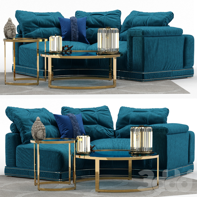 Andrew Sofa by Fendi (Section B)
