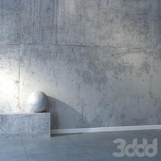 Бетонная стена 33