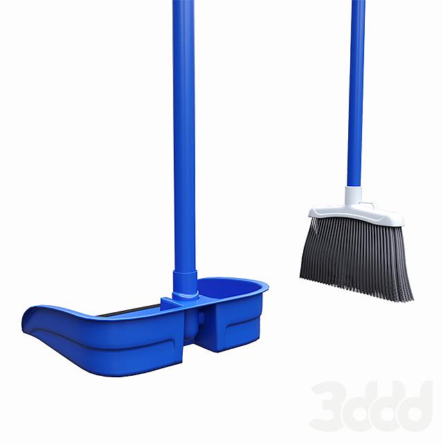 Broom Dustpan Set