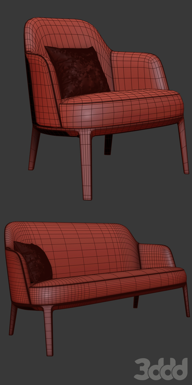 Poliform Jane Arm Chair And Sofa