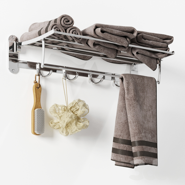 Zangra Foldaway Towel Rack