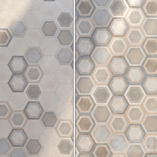 Плитка Vives Ceramica Rift Hexagono