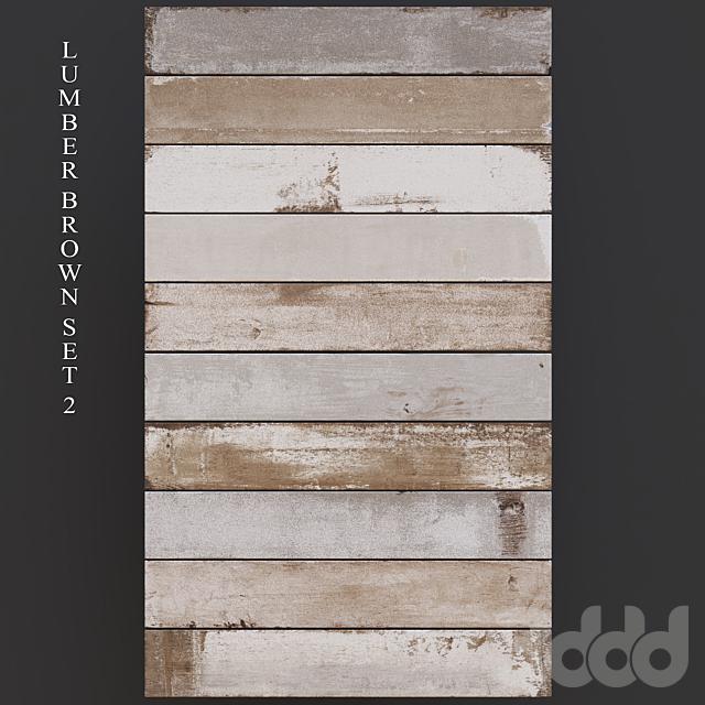 Peronda Lumber Brown Set 2