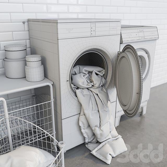Podab, washing and drying equipment