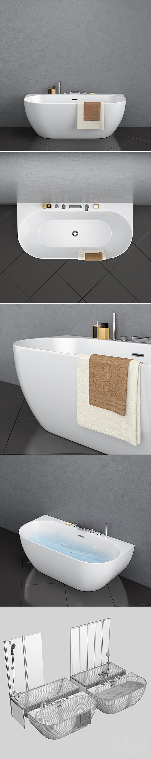 Набор ванн Ravak set 17 (Classic и Freedom W в 2-х вариантах)