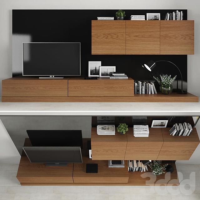 TV stand set 012