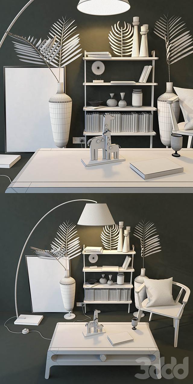 Стул и стол Unikamoblar.