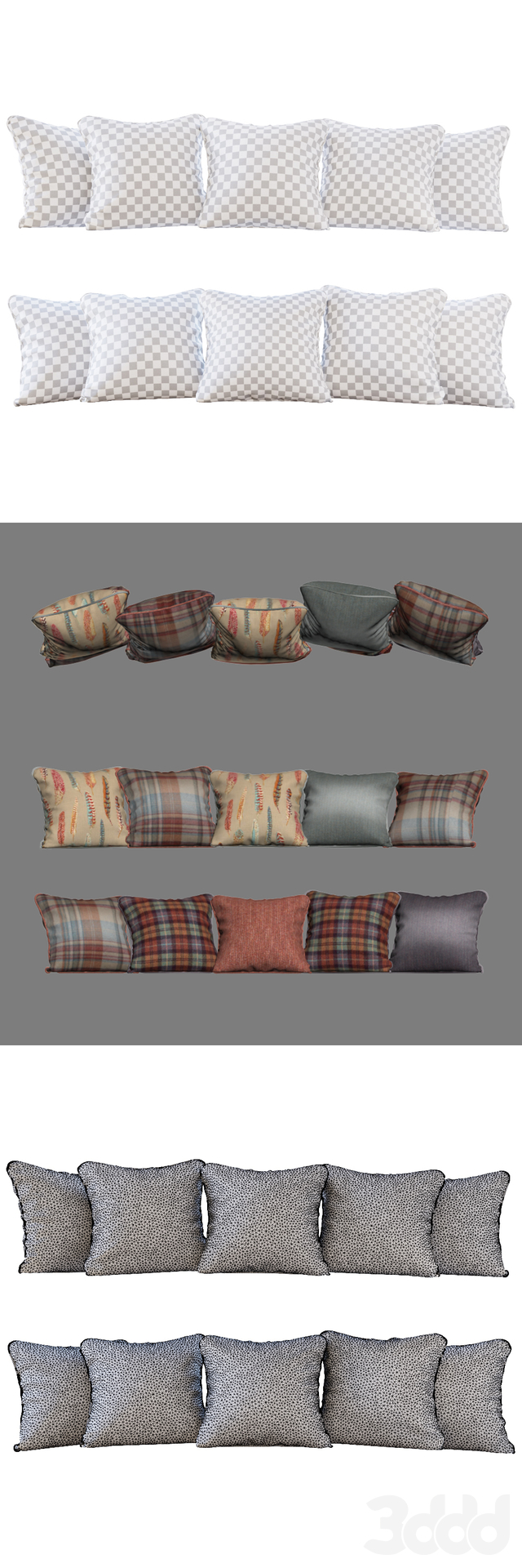 Набор подушек с тканями  Sanderson 01 (Pillows Sanderson 01 YOU)