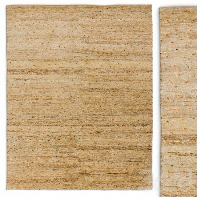 Ковер GRIT&ground Confetti Day Area Rug Natural/Multi Rug