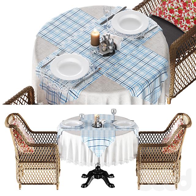 Набор мебели для террасы