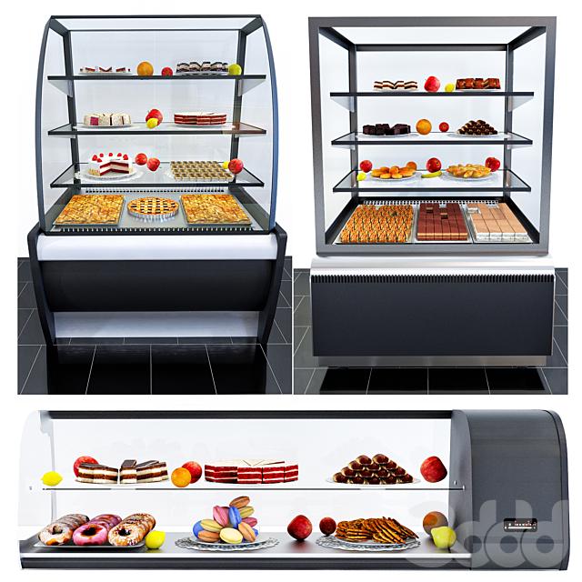 Холодильные витрины Carboma