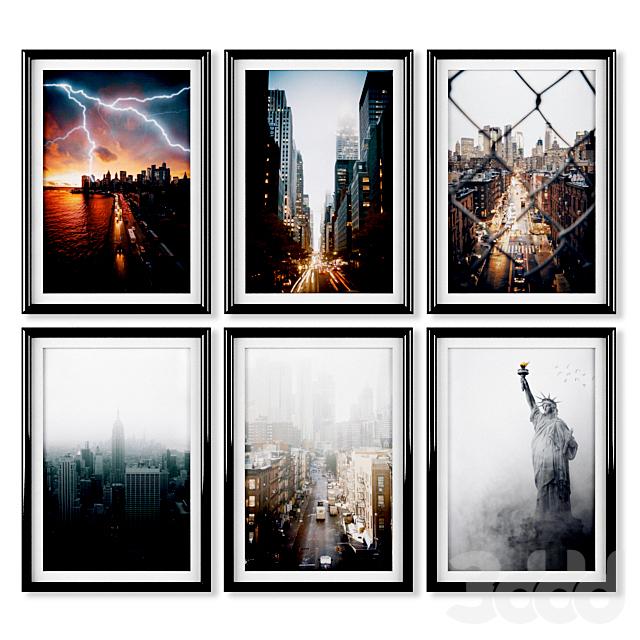 Постеры: Нью-Йорк.